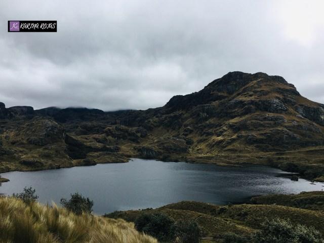 Laguna toreadora El Cajas
