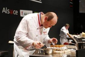 Jean-Paul Bostoen cusinier de l'Auberge de l'ILL Séquence Meilleur Ouvrier de France
