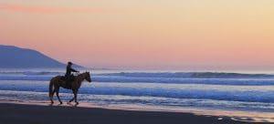 Coucher de soleil-Californie