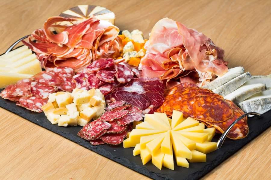 Plateau charcuterie et fromage