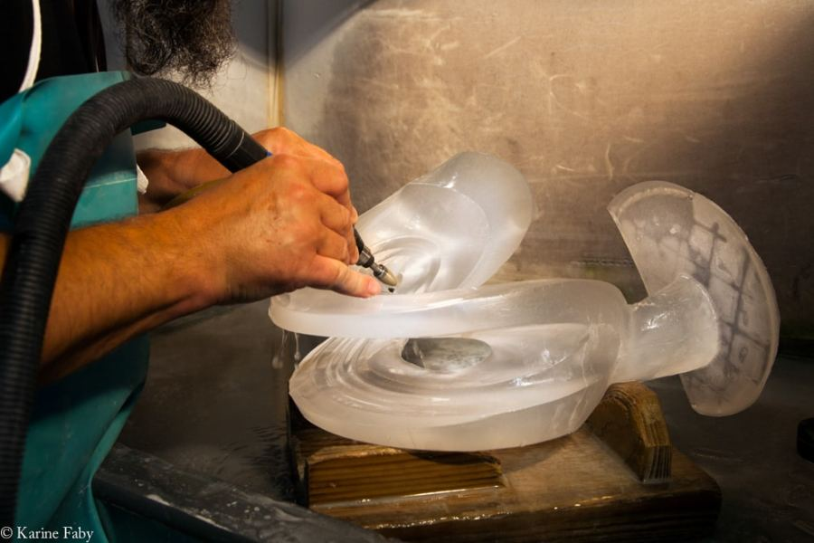Reportage photos cristallerie Lalique