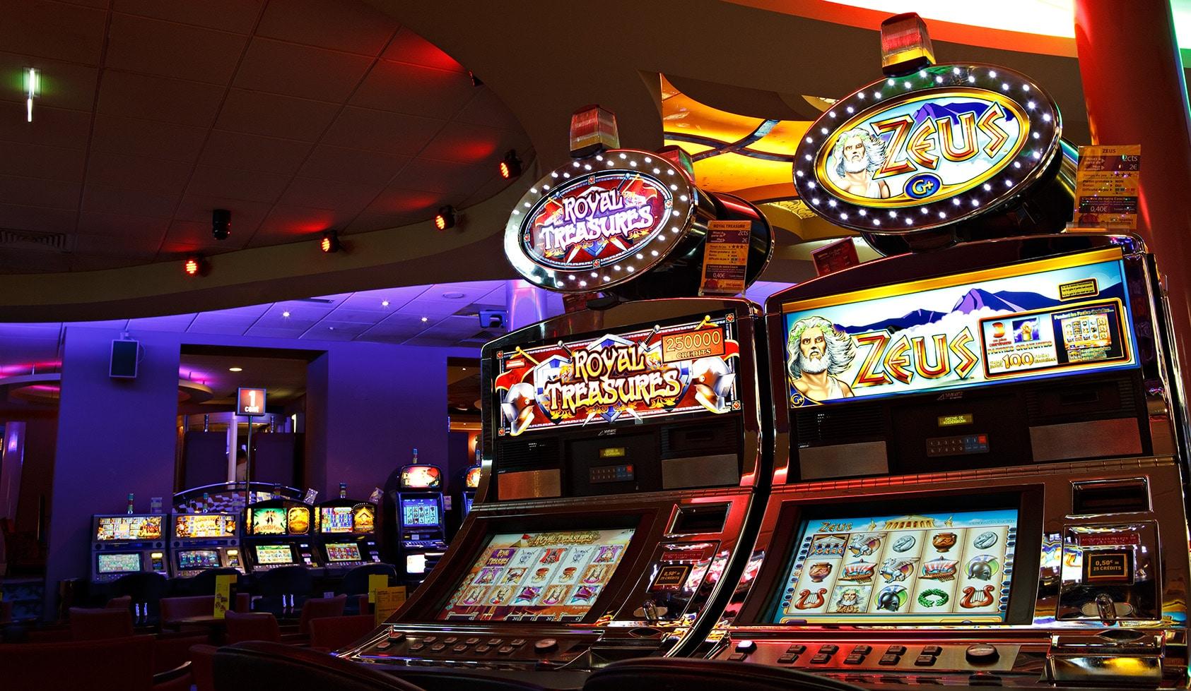 Casino Barrière machine à sous