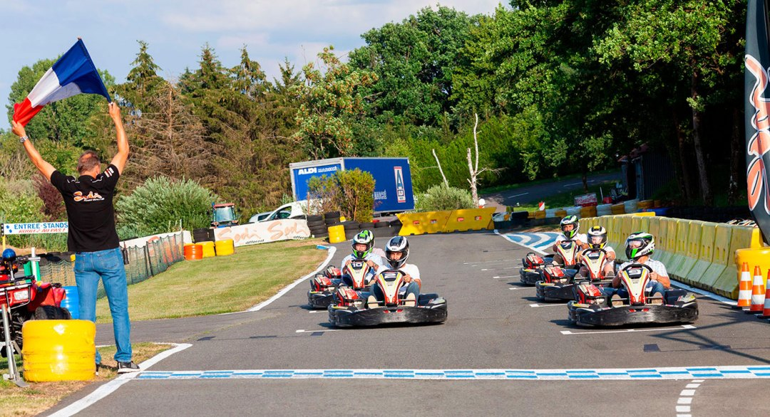 Course Karting Iveco Bus