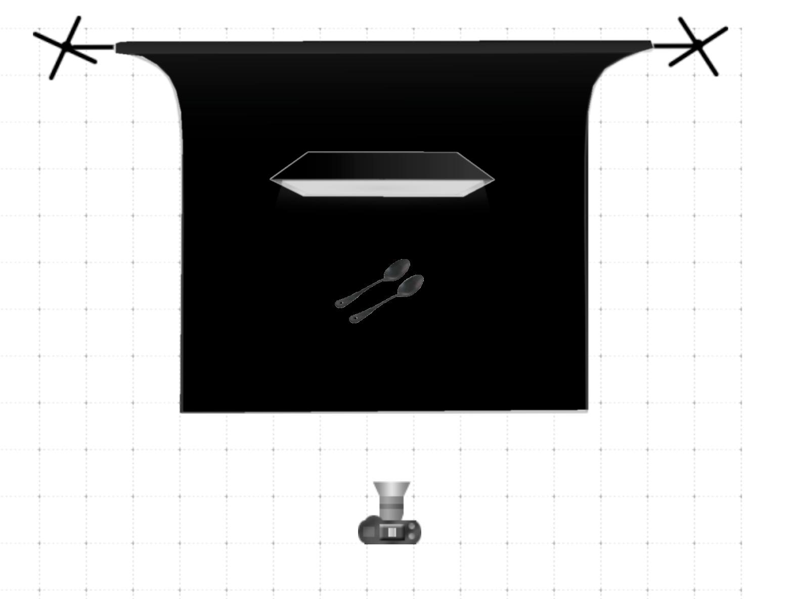 lumière et plan d'éclairage studio