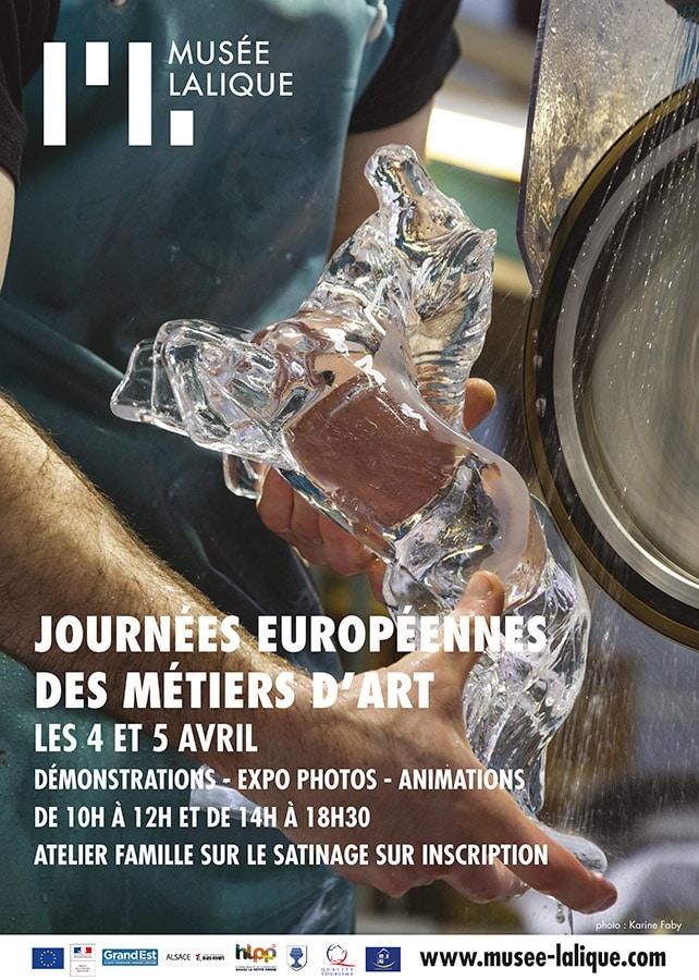 Affiche exposition musée Lalique JEMA