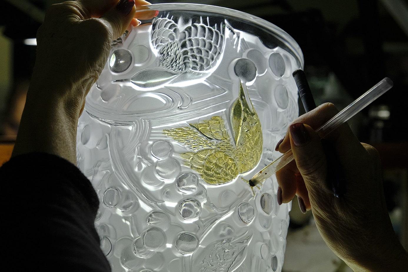 Reportage photo cristallerie Lalique