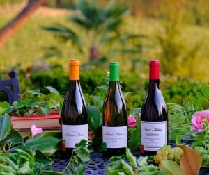photos de trois bouteilles de vin