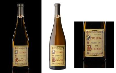 Packshot d'une bouteille de vin