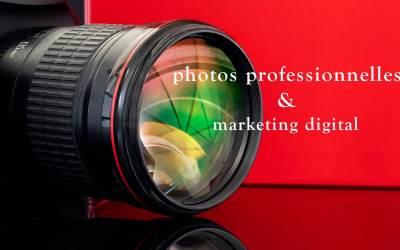 Photographe professionnel au service du marketing digital