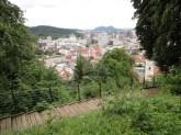 Uitzicht vanaf Ljublana Castle