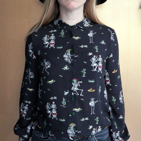 Halloween blouse