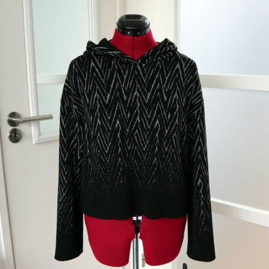 Cropped sweater op paspop
