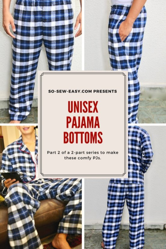 Gratis naaipatroon pyjamabroek