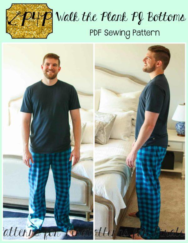 Walk the plank PJ bottoms