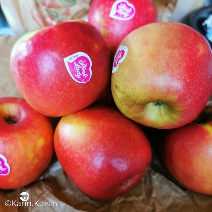 Préparez les pommes