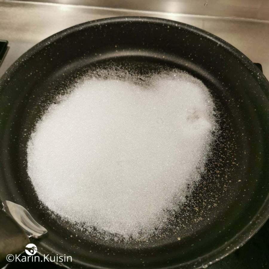 Versez une part du sucre