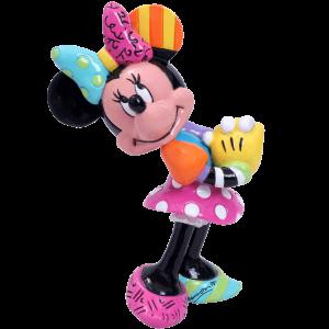 Blushing Minnie Mouse Miniature Figurine