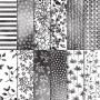 Designerpapier Blütenfantasie 145589