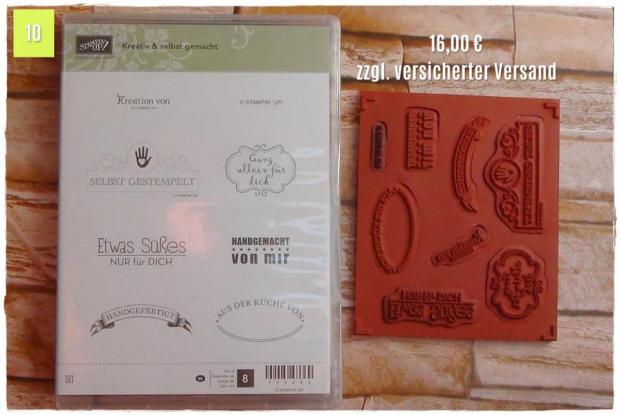 Kreativ & selbst gemacht (16,00 Euro zzgl. Versand)