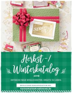 Stampin' Up! Herbst-/Winterkatalog 2018