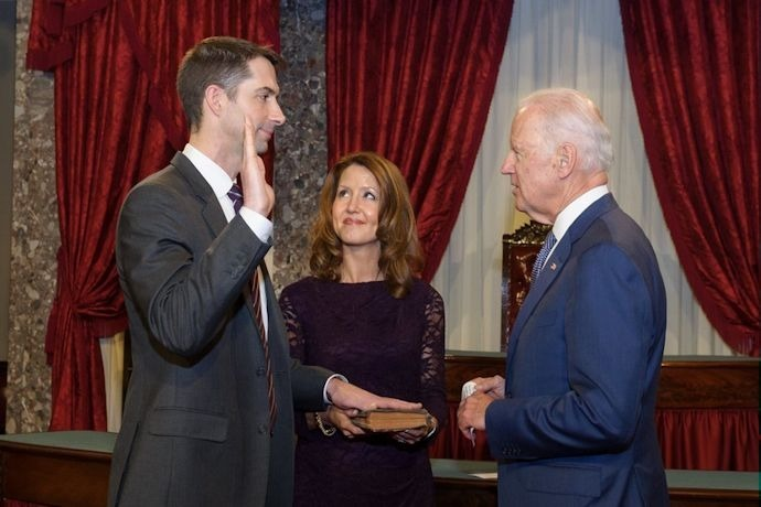 Sen. Tom Cotton swearing in - Jan. 2015_-7092991671285758298