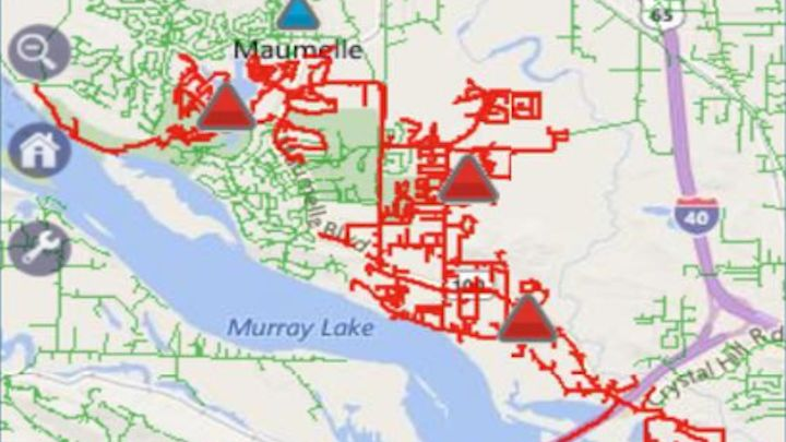 Maumelle Power Outage Map