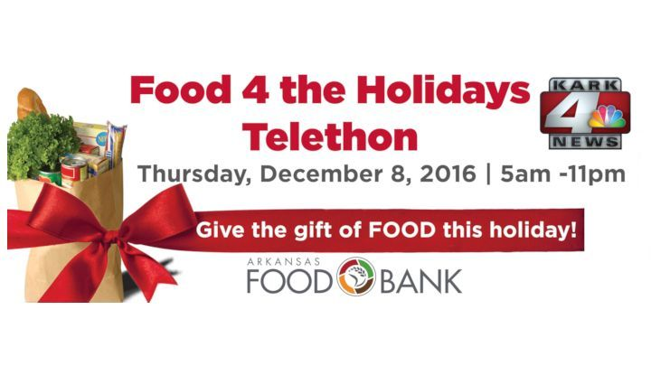 KARK Food 4 the Holidays Telethon 2016