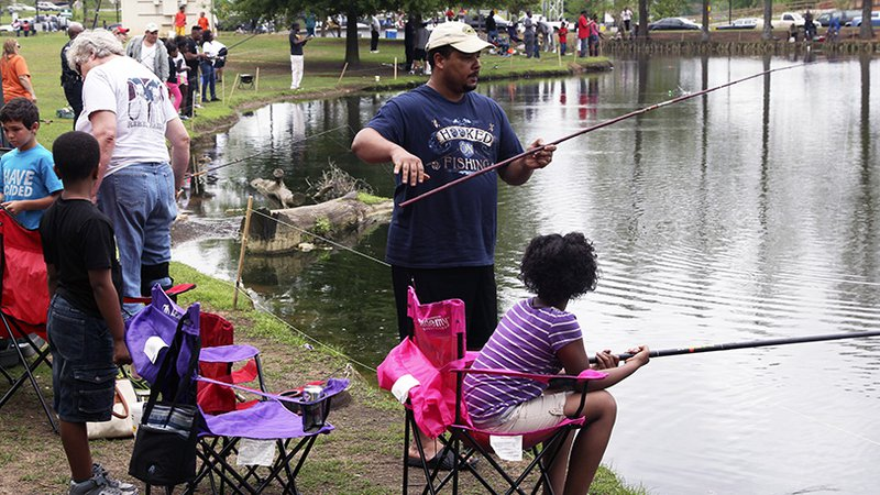Update: 'Big Catch' fishing derby at MacArthur Park moved to
