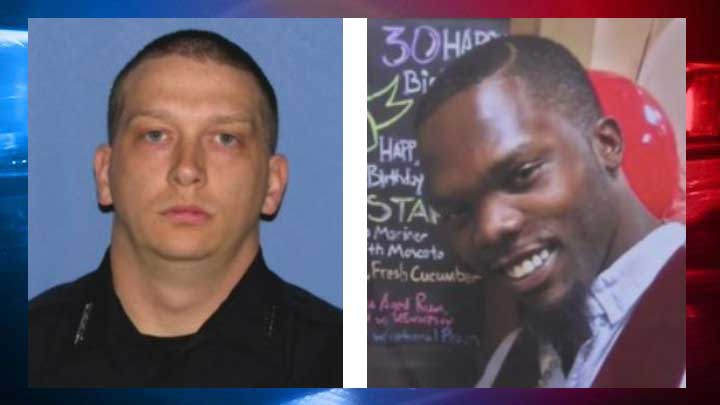 Report: Blackshire shot 8 times, officer may have 'blacked