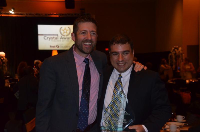 Jeffrey Paul Whitlow (Right) Named 2019 LRSD Teacher of the Year_1557955989162.JPG.jpg