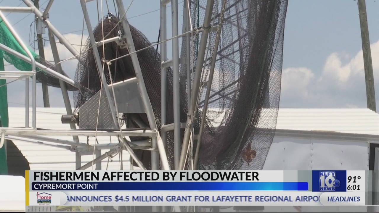 Flooding, pollution hurting fishing industry