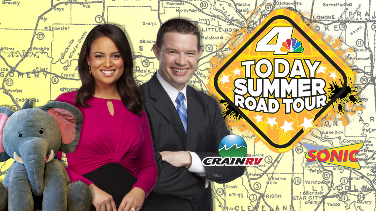 KARK 4 Today Summer Road Tour kicks off Monday | KARK