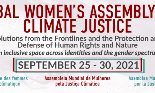 """Global Women's Assembly for Climate Justice to Coincide with U.N. General Assembly: """"Life Itself Hangs in the Balance"""" – Ms. Magazine"""