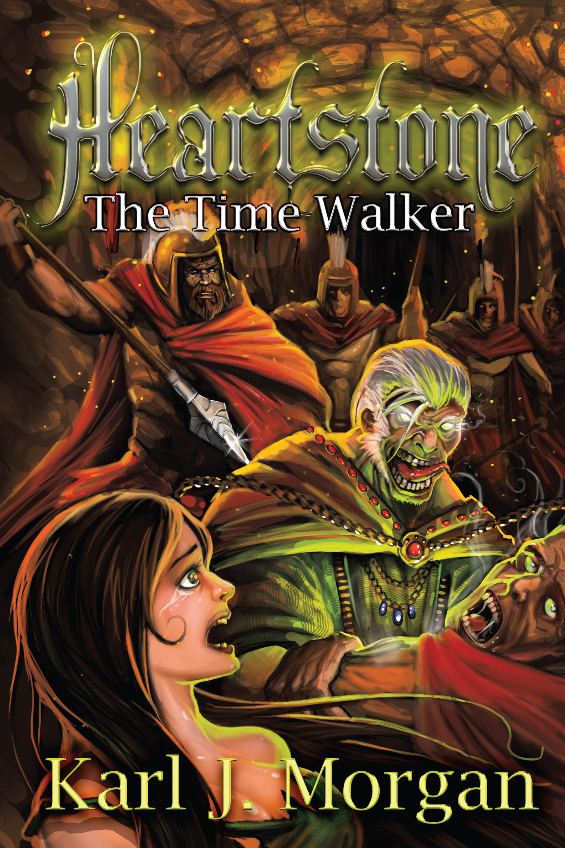 Heartstone join the adventure here is the cover for my latest book heartstone the time walker which will be available in print and e book versions on october 15 2013 fandeluxe Epub