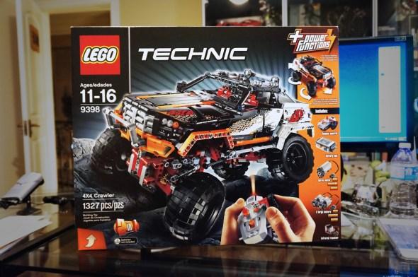 LEGO TECHNIC #9398 4X4 Crawler