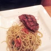 roasted beef spaghetti