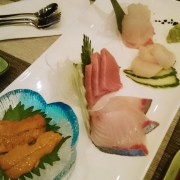 chef pick sashimi