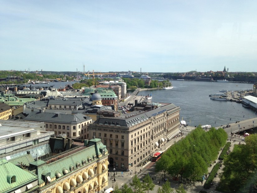 Skyline view of Stockholm, Sweden