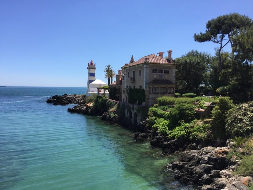 The Santa Marta Lighthouse and the Casa Santa Maria