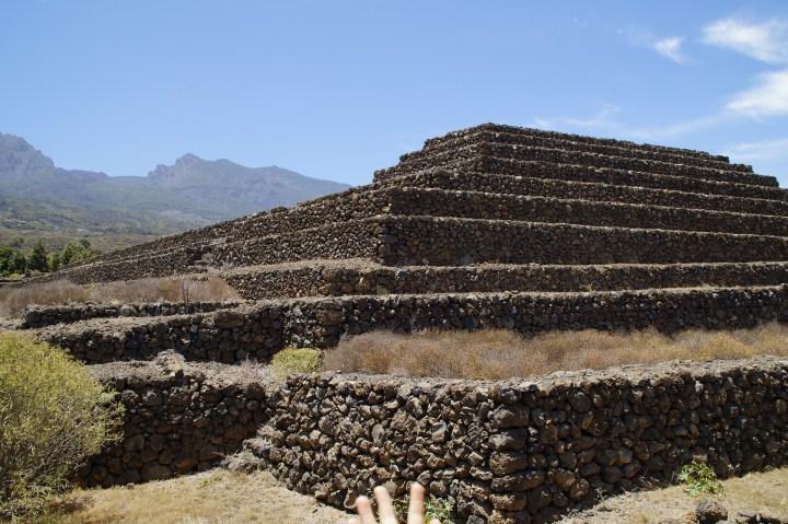 The Pyramids of  Guimar, Tenerife