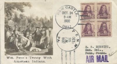Wm Penn's Treaty With Native Americans