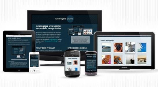 Diseño Web Receptivo o Adaptable