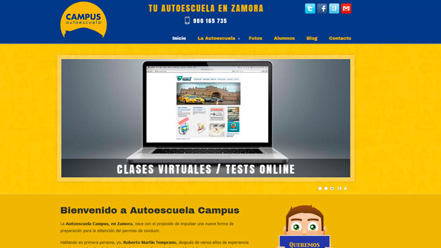 Autoescuela Campus