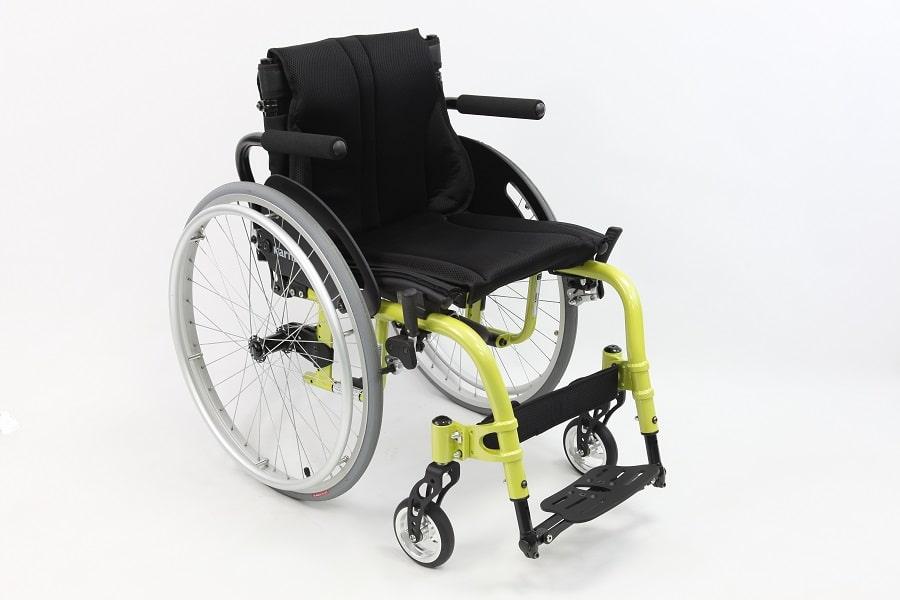 ATX active wheelchair lime frame color