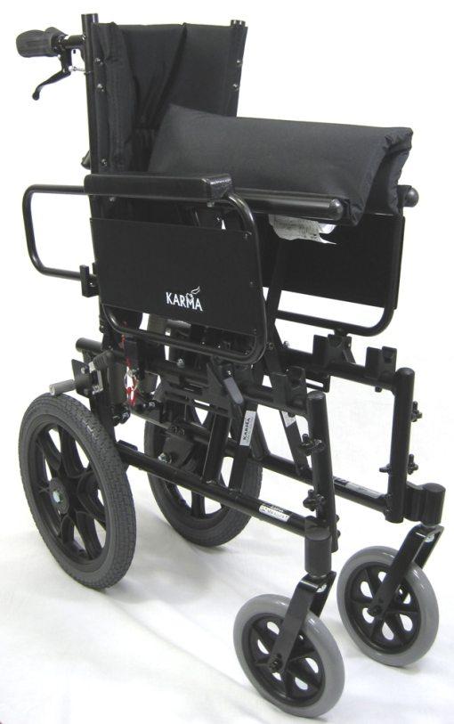 KM5000TPFold2XL lightweight reclining wheelchair