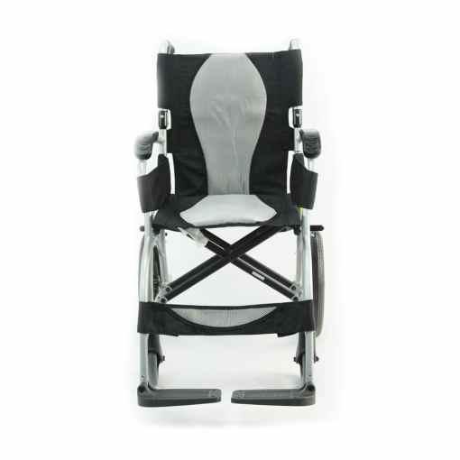 ergo lite wheelchair front view