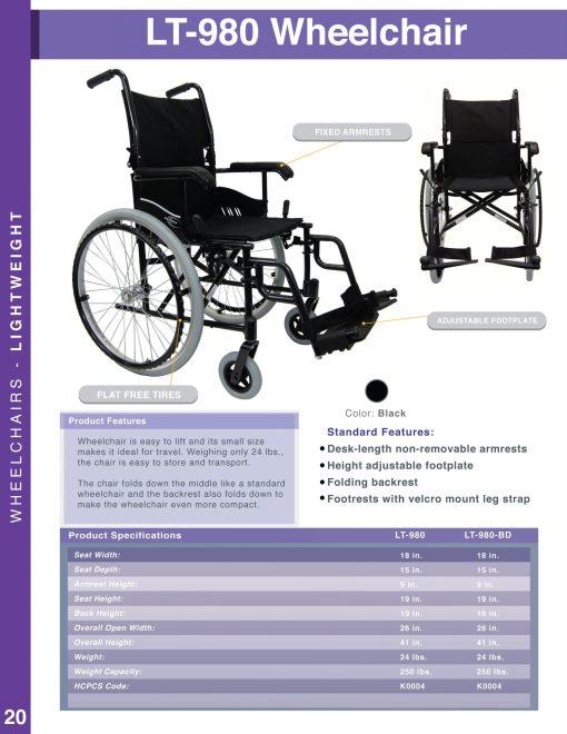 fullcatalog2013 lt980 LT-980 ultra lightweight wheelchair