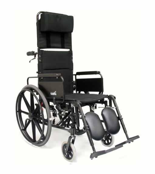km5000f lightweight reclining wheelchair