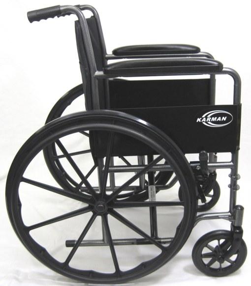 lt 800sidexl LT 800T manual wheelchair close up