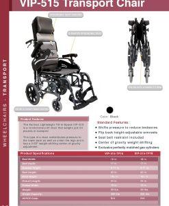 fullcatalog2013 vip515tp VIP-515 Tilt-in-space wheelchair